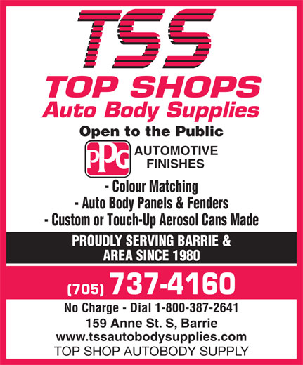 TSS Top Shops