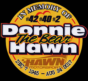 "In Memory of Donnie ""The Bear"" Hawn"